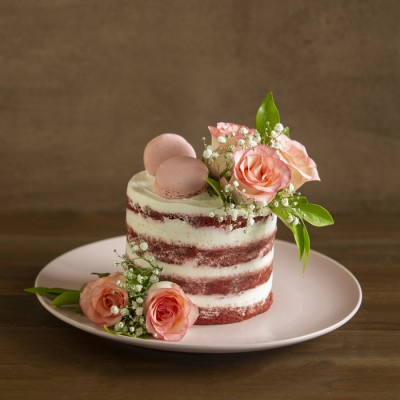 Red Velvet with Cream Cheese Frosting and Jumelias750gms
