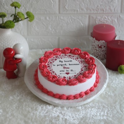 My Heart is perfect ... photo cake