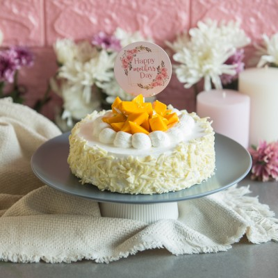 Mother's Days Mango white chocolate cake 500gms