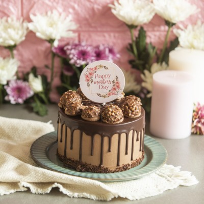 Mothers day Ferrero Rocher Chocolate Cake 750gms