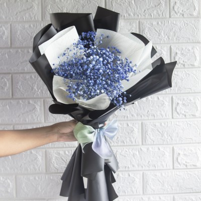Hand Bouquet Of Baby Breath