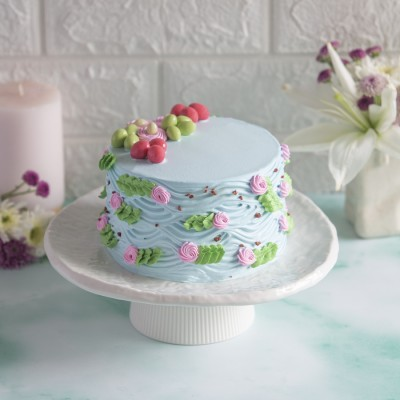 Floral Chocolate Cake 850gms
