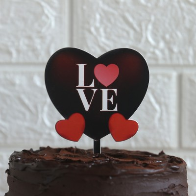 Heart Love topper