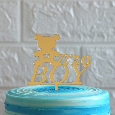 Its a boy topper