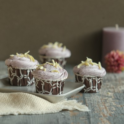 Blueberry Cup Cakes 4pcs