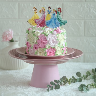 Colourful Disney Princesses Theme Cake 750 gms