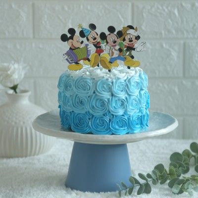 Mickey Mouse Theme cake 750gms