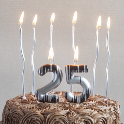 """""""25"""" Numeric Candles"""