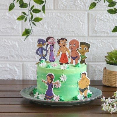 Chota bheem and friends Theme Cakes 750gms