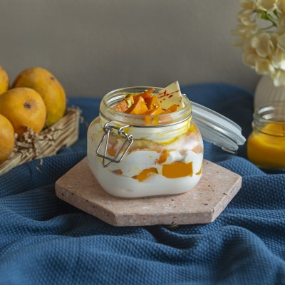 French Fresh Cream Mango Jar