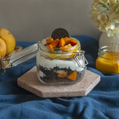Mango Oreo Fresh Cream Jar