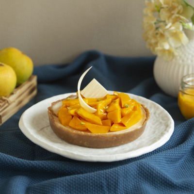 Mango Yogurt Tart 500gms(eggless)