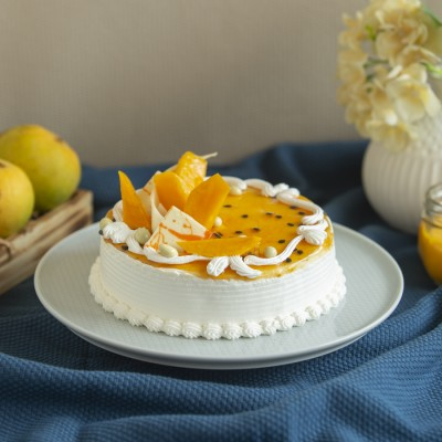 Passion Fruit mango Cake 500gms