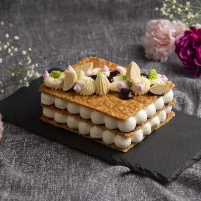 Mille Feuille  Cake (eggless) 500g
