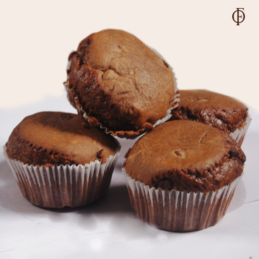 Eggless chocolate chip muffin 4pc
