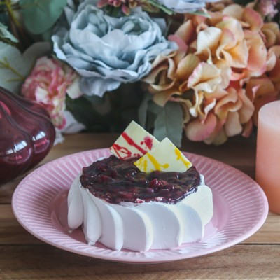 Blueberry cheese cake 500gms