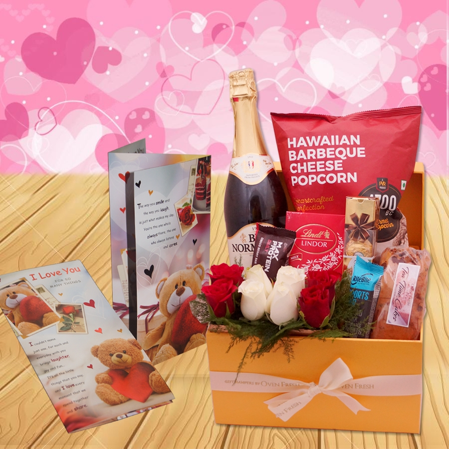 Valentines Day Hamper Supreme Excellence GH043 With Card
