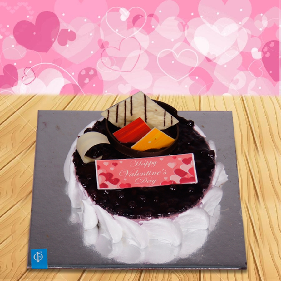 Valetine's day Blueberry Cheese cake 500gms